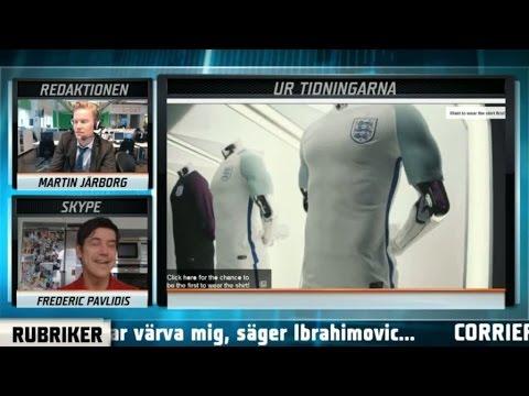 """Kraftiga reaktioner mot Englands nya tröja: """"Sticker i ögonen"""" – TV4 Sport"""