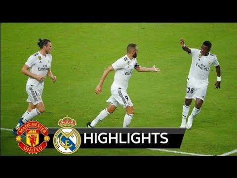 Manchester United vs Real Madrid 2-1 – Extended Highlights 2018