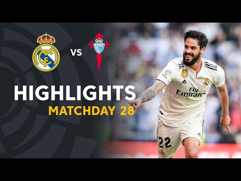 Highlights Real Madrid vs RC Celta (2-0)