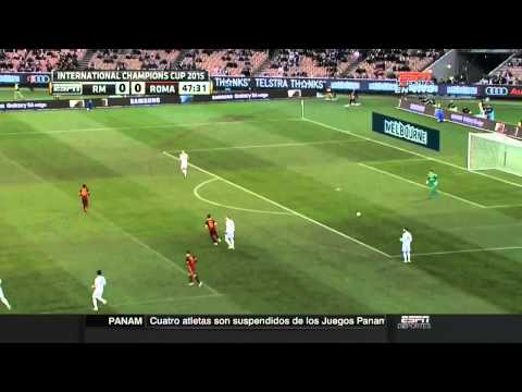 Real Madrid vs AS Roma HD 0-0 Partido Completo