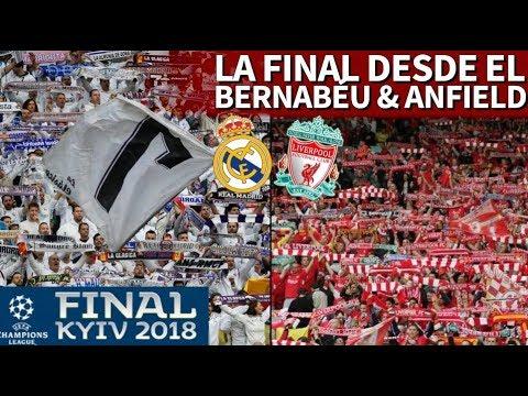 Real Madrid 3-1 Liverpool | Así vivieron la final de Champions en el Bernabéu y en Anfield
