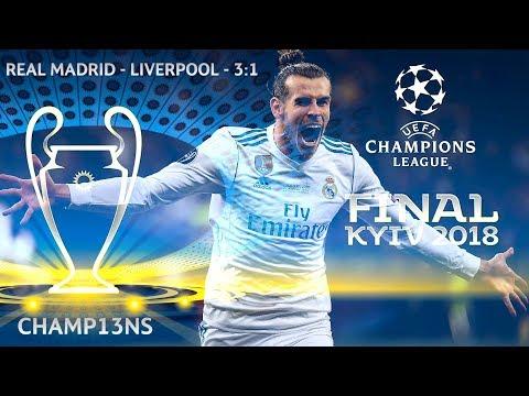 🇪🇸 Real Madrid – Liverpool 🏴 – 3:1 | Match highlights | UCL Final Kyiv 2018 (26.05.2018)