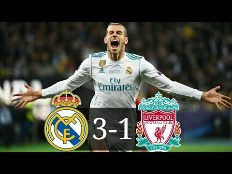 Real Madrid 3-1 Liverpool FINALE CHAMPIONS LEAGUE 2018 all goals & highlights HD