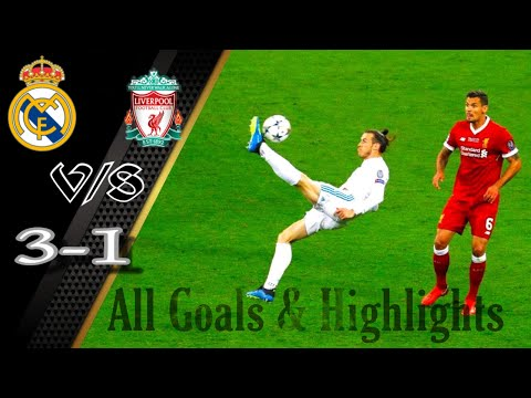 Real Madrid vs Liverpool 3 – 1 | All Goals & Full Match Highlighta | B.Gale Volly Goal