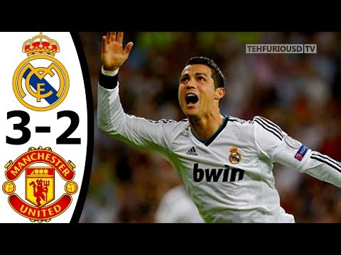 Real Madrid vs Manchester United 3-2 (agg) All Goals and Extended Highlights (UCL) 2012-13 HD 720p