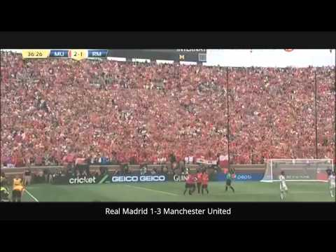 Real Madrid 1-3 Manchester United All Goals and Hightlight 2014