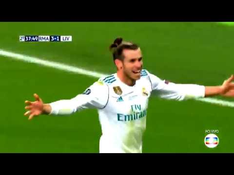 Real Madrid 3×1 Liverpool Champions League 2017/2018 – Melhores Momentos