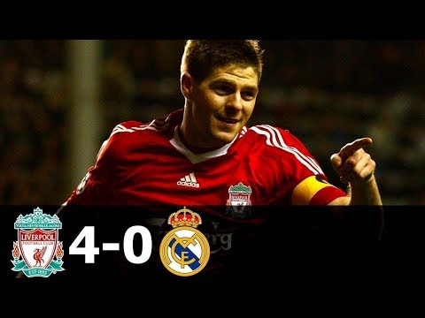 Liverpool 4-0 Real madrid All Goals & Highlight -HD