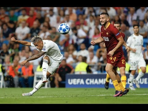 Real Madrid's Mariano Scores Insane Golazo vs. AS Roma | Champions League