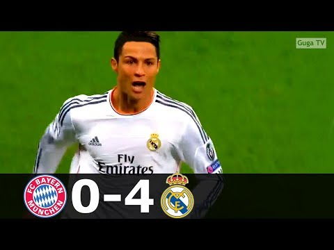Bayern Munich vs Real Madrid 0-4 – UCL 2013/2014 – Highlights (English Commentary)