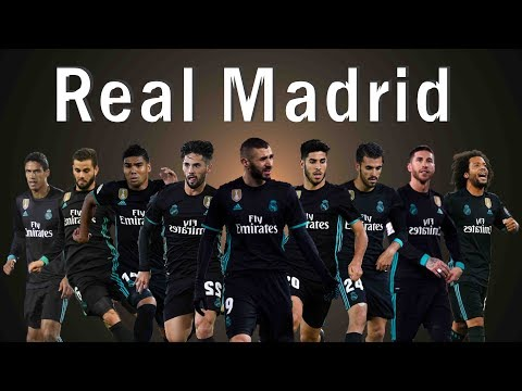 NEW REAL MADRID SQUAD 2019