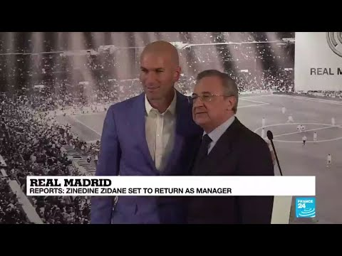 Real Madrid: Reports – Zinedine Zidane set to return as manager