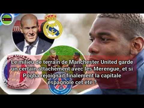 Real Madrid : Pogba prêt à ouvrir la porte à Zidane ?