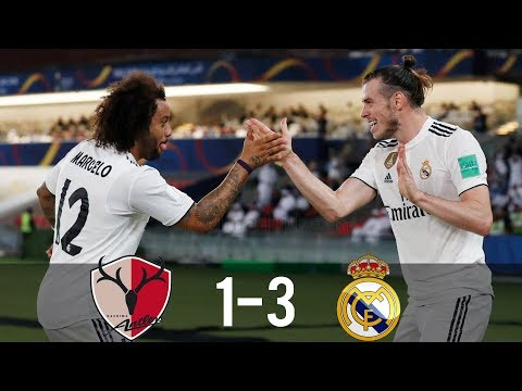 Kashima Antlers vs Real Madrid 1-3 – All Goals & Highlights – 19/12/2018 HD