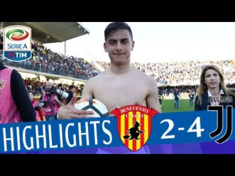 Benevento – Juventus 2-4 – Highlights – Giornata 31 – Serie A TIM 2017/18