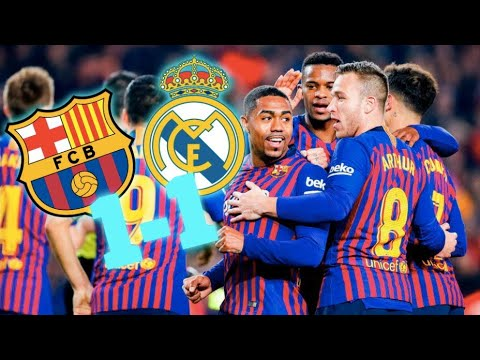 BARÇA 1-1 REAL MADRID | BARÇA LIVE | Warm up & Match Center