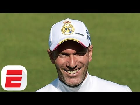 Real Madrid: Zinedine Zidane Holds His First Training Session Since His Return