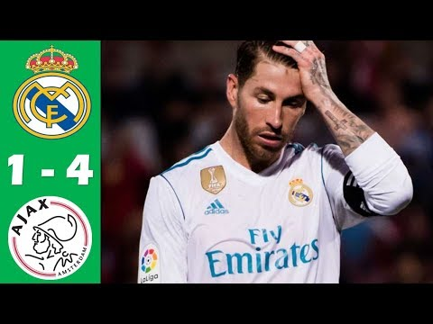 Real Madrid vs Ajax 1-4 Highlights & Goals 2019