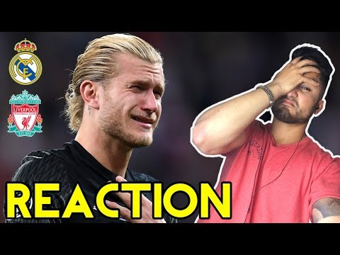 KARIUS NOOOOOO!!!! UCL FINAL GROUP REACTION: REAL MADRID VS LIVERPOOL (3-1)