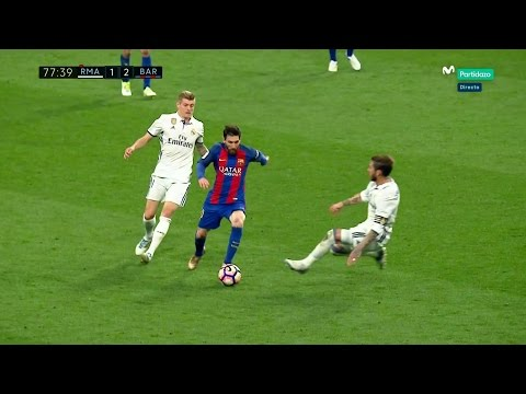 Lionel Messi vs Real Madrid (Away) 2016-17 HD 1080i