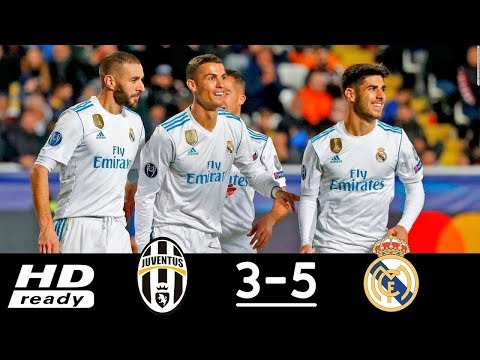 Juventus vs Real Madrid 3-5 All Goals & Highlights (Last 2 Matches) HD