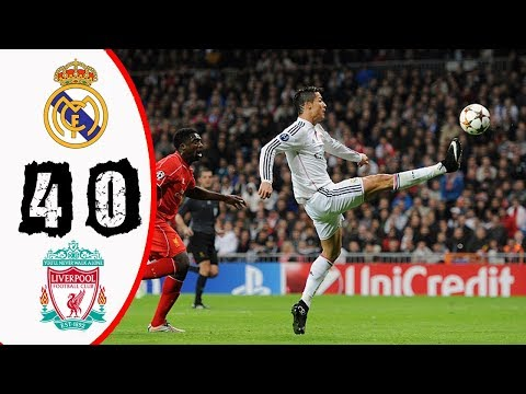Real Madrid vs Liverpool 4-0 – All Goals & Highlights Résumé & Goles (Last 2 Match) HD