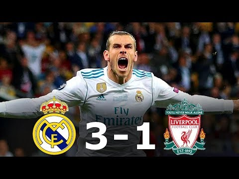 Real Madrid 3-1 Liverpool – All Goals & Full HIghlights – UCL FINAL 2017/18