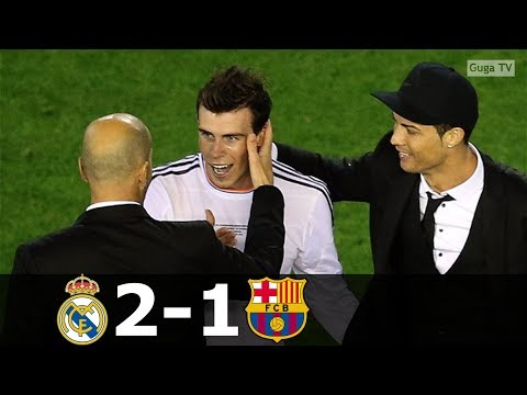 Real Madrid vs Barcelona 2-1 – Copa Del Rey Final 2014 – Highlights (English Commentary)