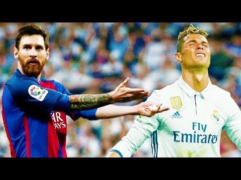 The Day Lionel Messi  Made Cristiano Ronaldo Cry ● Lionel Messi Destroying Real Madrid 2017 ● HD