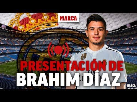 Presentación de Brahim Díaz como nuevo jugador del Real Madrid I MARCA