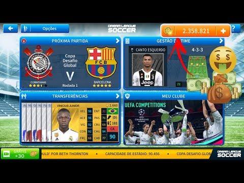 Dream League Soccer 2019 Oficial Dinheiro Infinito Kits Barcelona, Real Madrid & Juventus