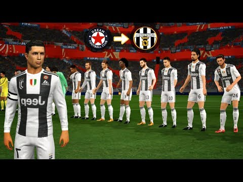 Create Juventus Team 2018|19 🔥 Kit Logo & Players 🔥 Dream League Soccer 2019