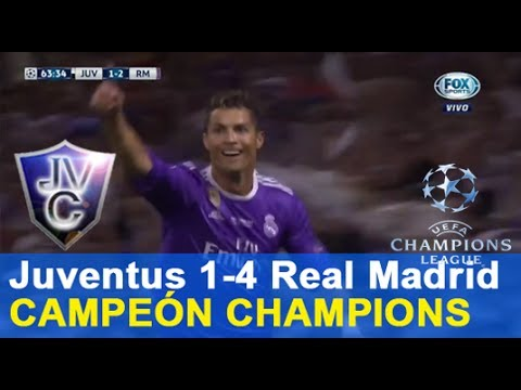 (Relato Mariano Closs) Juventus 1-4 Real Madrid 03/06/17 final champions 2017