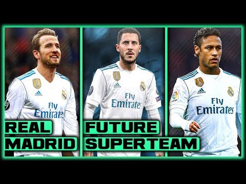 TRANSFER NEWS! 5 Players REAL MADRID Need To SIGN To Build A Future SUPERTEAM ft Neymar & Hazard