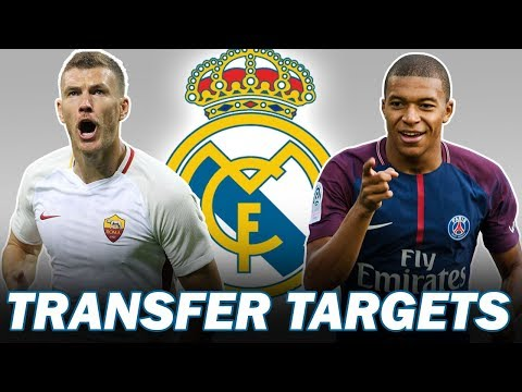 Top 5 Real Madrid Transfer Targets in January 2019