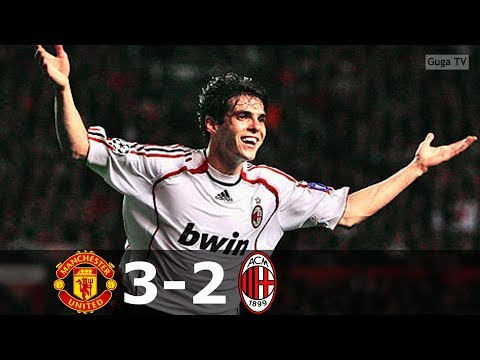 Manchester United Vs Ac Milan 3 2 Ucl 2006 2007 Highlights English Commentary Real Madrid Junction