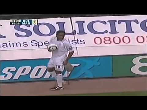 Jay Jay Okocha vs Manchester United – 2004 – (Home)