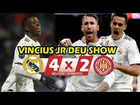 VINICIUS JR HUMILHOU | Real Madrid 4 x 2 Girona (HD) Melhores Momentos – Copa Do Rei 24/01/2019
