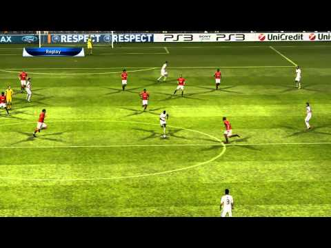 PES 2011 – Manchester United vs Real Madrid – 1st Half