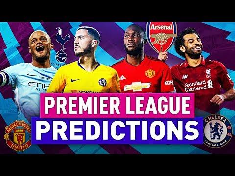 PREMIER LEAGUE PREDICTIONS 2018/2019 | PL 18/19 | w/ LIVERPOOL, MAN UNITED & MAN CITY | FIFA 19
