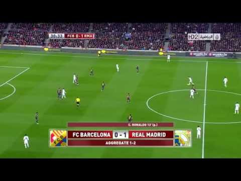 Barcelona VS Real Madrid 1-3 Full Match HD 720p 26 2 2013