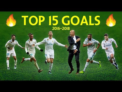 Zidane Is Back! Best 15 Goals Real Madrid Under Zinedine Zidane