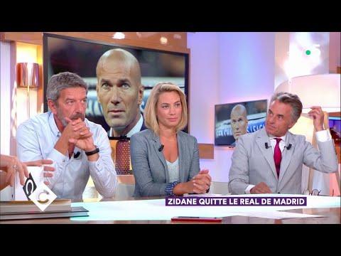 Zidane quitte le Real Madrid ! – C à Vous – 31/05/2018