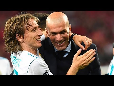 The secret conversation between Zidane and Modric in January 2016 – Oh My Goal