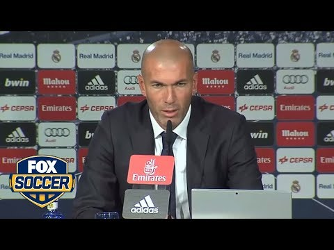 Zidane: Gareth Bale is fundamental for Real Madrid