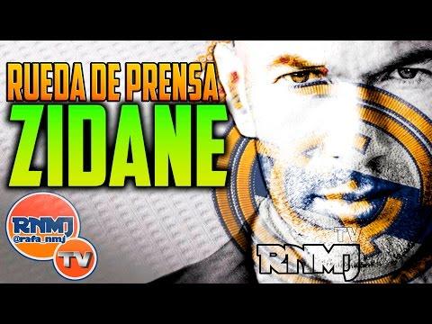Presentación Zinedine Zidane Rueda de Prensa Real Madrid | 05/01/2016