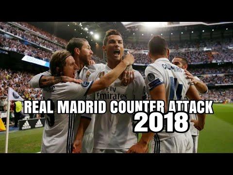 Serangan Balik Terbaik dan Super Cepat Real Madrid 2018