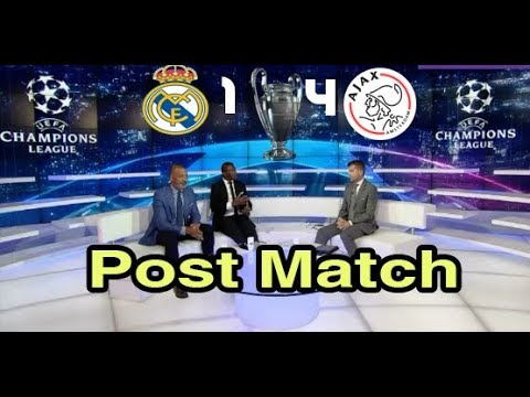 Real Madrid Vs Ajax 1_4 Full Post Match Analysis