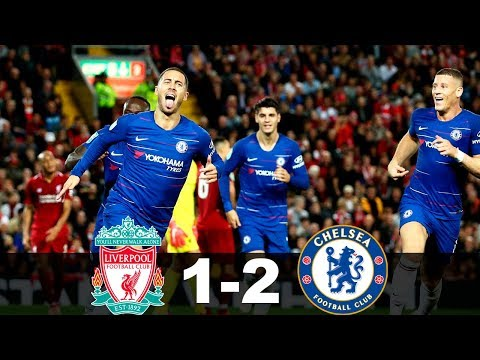 Liverpool vs Chelsea 1-2 Goals & Highlights 2019