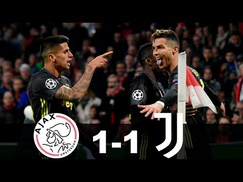 Ajax vs Juventus 1-1 Goals & Highlights – UCL 2019 720 (From the Stadium)